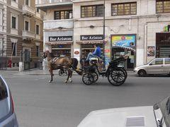 世界遺産エオリエ諸島とシチリア大周遊(42) パレルモ ホテル付近の早朝散歩