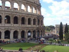 激こみのローマとフィレンツェ