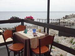 世界遺産エオリエ諸島とシチリア大周遊(45) チェファル チェファルの街で昼食