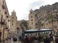 世界遺産エオリエ諸島とシチリア大周遊(44) チェファル チェファルの街の徒歩観光