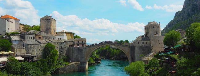 セルビア旅行(モスタル編)