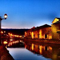 北の街をゆらゆら1人旅(後編)~小樽運河、海鮮丼、夜景