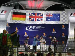 F1シンガポールグランプリ2014(日曜日)