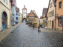 新緑のドイツ旅行<7>  中世の宝石箱 ローテンブルクを歩く