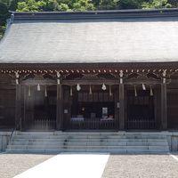 隠岐の島 ローソク島遊覧とまるごと全4島(20) 隠岐神社の参拝と、海士町後鳥羽院資料館の見学