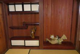 2015春、飛騨高山と白川郷を訪ねて(15):白川郷、中野義盛家、セピア写真、養蚕施設、焔硝生産跡