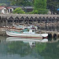 隠岐の島 ローソク島遊覧とまるごと全4島(36) 屋那の松原散策と船小屋の見学