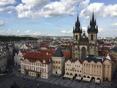 【ヨーロッパ周遊 8日で4ヶ国の旅 2 】チェコ・プラハで観光とグルメ満喫