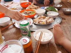 世界遺産となったチャンアンのある町、Ninh Binh〔ニンビン〕の家庭料理。
