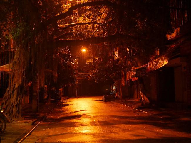 ベトナムとはたった2時間の違い。<br />たかが2時間。<br />でもベトナム時間では、朝はとても早く目覚めてしまう。<br /><br />せっかく早起きしたので、まだ夜明け前に<br />泊まったハノイ旧市街に散歩に出かけました。<br />