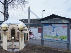 北極圏の南端でサンタクロースの住む村ロヴァニエミ