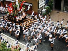 これぞ日本の祭り 博多祇園山笠!男の祭り!いいえ親子家族絆の祭りです!1追い山馴しと須崎廻り止
