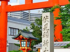 伏見稲荷大社b 奥の院~神宝神社/稲荷山 ☆竹の下道・新緑の風