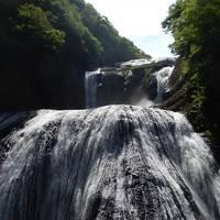 茨城大子町の河鹿園宿泊と袋田の滝見物