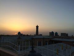 中央アジア8日間+αの旅(3)ウズベキスタン編サマルカンドからバスでブハラへ