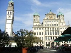 ドイツロマンチック街道を縦断する14:アウクスブルクその1。