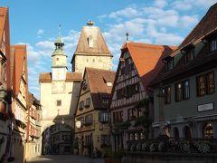 2015年南ドイツ旅行 ロマンティック街道を行く(ヴュルツブルクとローテンブルク)