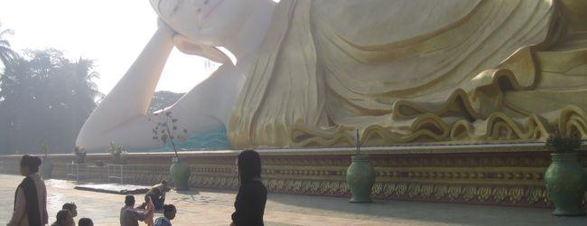 2015 バゴーでお寺巡り(というか大半大仏...