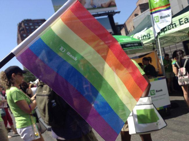 """毎年6月に開催されるLGBTのための一大イベント★<br /><br />""""Pride""""<br /><br />ちょうどNY滞在中に重なってたので、行って来ました!!!すごく楽しい!!LGBTもそうでない人も入り混じって、皆が楽しめるイベントですっ♪<br /><br />"""