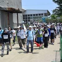 宮城被災地を巡る(2)石巻復興マラソン ウオーキングの部 参加記