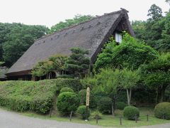 2015梅雨、東山動植物園(7/10):植物園:合掌造りの家