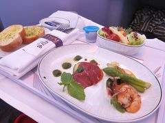 2015年6月・タイ航空ビジネスクラスで 大阪⇒バンコク
