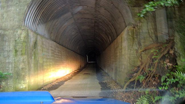 地図には道路が無くナビも道路を示さない。<br /><br />一見、通行止めに見えるのですが、、<br /><br />近くを探索すると、、、、<br /><br />トンネルのようなクルマ一台ちょうどぐらいの穴を発見しました。<br /><br />近くてせ見ると狭すぎてバックはできないし対向も無理。<br /><br />はたしてどこまで続くトンネルかどうかすらわからない。<br /><br />++++++<br />超絶ロングドライブ、スバルWRXで日本一周<br />http://mackenmov.sunnyday.jp/macken/travel_japan/index.html<br /><br />Twitter<br />https://twitter.com/mackenmov<br /><br />Instagram<br />https://www.instagram.com/mofmofp_/<br /><br />Blog<br />http://mackenmov.sunnyday.jp/<br /><br />積極的に発信しています! フォローしてくれたらうれしいです(⌒▽⌒)<br /><br />Amazonでの著書<br />・北海道の写真集 201406 part1 <br />https://amzn.to/2EBLnND<br />・ロングドライブのテクニック(1日で1000キロ走るコツ)<br />https://amzn.to/2HjpwgP<br />・人生を変える30のヒント<br />https://amzn.to/2HR0iXp<br />
