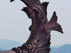 姫路城3/5 大天守最上階~眺望、絶景  ☆屋根瓦や鯱も更新され