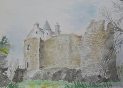 ⑯ 岬の先の恐怖の城 ダンスタフネイジ城
