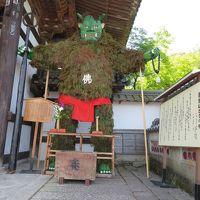 家族で行く石山寺☆偶然、青鬼祭りの日でした(^_^)v