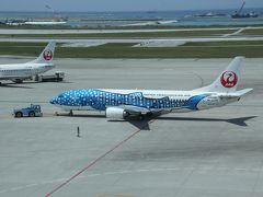 201505-10_沖縄旅行 番外編(飛行機から&空港にて) / Flying and Airport in OKINAWA