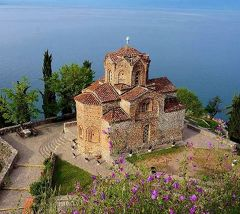 団塊夫婦の東欧・バルカン半島4000キロドライブ旅行ー(12)マケドニアその2・オフリド滞在&聖ヨハネ・カネオ教会