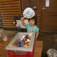 '15子連れ国内旅行 初めてのキャンプ旅in豪雨(苦笑)。