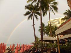 チューリップマークのユナイテッド航空で行くハワイその5 虹の島にお別れ