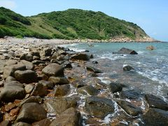 香港の離島で癒される2★緑の芝と青い海と牛と…塔門ハイキング 後半