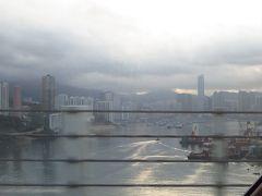 雨のち晴れの北京01★香港から香港ドラゴン航空で出発
