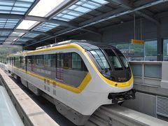 2015年7月韓国鉄道旅行3(大邱モノレール前篇)
