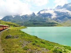 スイスアルプス 大自然と鉄道の旅 (3)ベルニナ鉄道全線走破