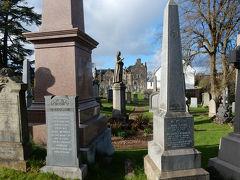 ⑲ スターリング城からの帰り道 墓地が・・・