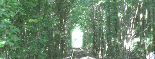 ウクライナ、恋のトンネル