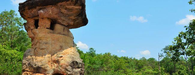 タイ プープラバート歴史公園で先史時代...