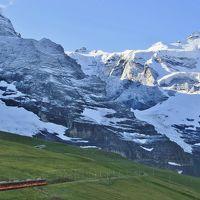 スイスアルプス 大自然と鉄道の旅 (10) 絵のようなグリンデルワルトとユングフラウ