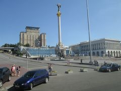 ウクライナの今、キエフ市内