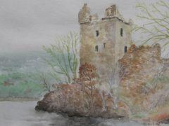 ㉔ ネス湖に佇む古城 アーカート城