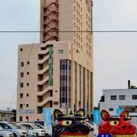 ホテルイン酒田駅前(最上階ツイン)に宿泊 ☆庄内一高い景色を楽しむ部屋で
