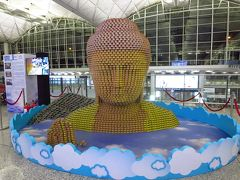 台風と追いかけっこの帰国10★香港★香港エクスプレスで香港へ 早朝の香港空港