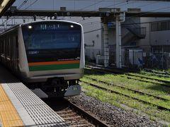 2015年7月富士山外周鉄道の旅2(羽田空港から国府津駅へ)