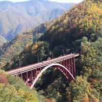 休暇村奥武蔵に泊まり雁坂トンネル周辺の紅葉をめでる