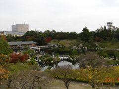 紅葉の広島 三景園
