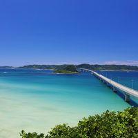 蒼い海に延びる美しい大橋〜角島大橋〜